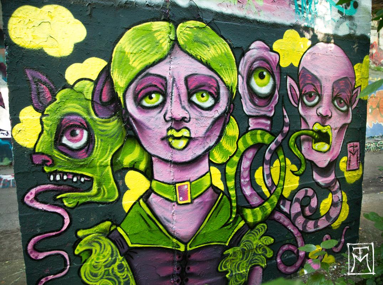 Gretzel Grim - TM Street Art