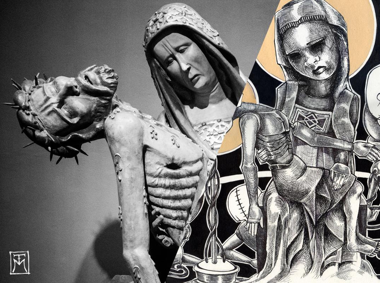 Pieta of Lubiaz / Pieta by TM