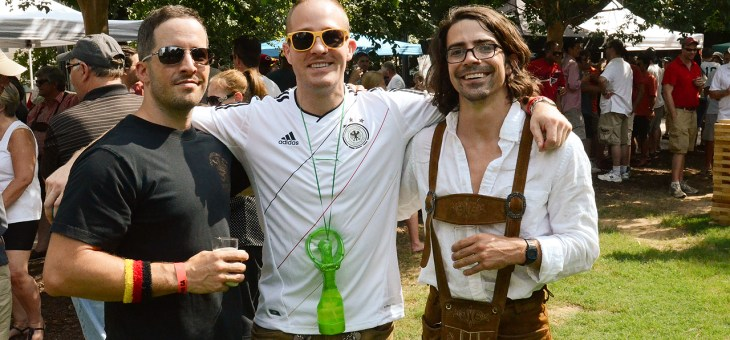 Photobook: German Bierfest at Woodruff Park 8/23
