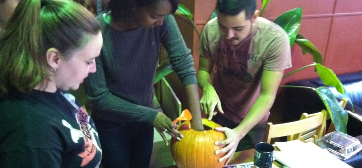TA Carves Out A Pumpkin Good Time