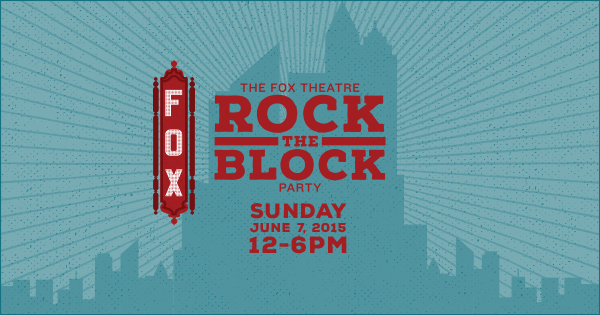 Event Preview: Fox Theatre Block Party 6/7