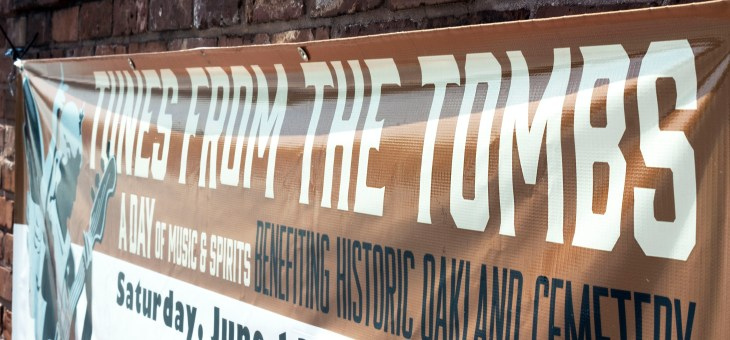 Photobook: Tunes From the Tombs @ Historic Oakland Cemetery 6/13/15