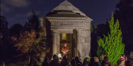 Halloween is coming! Capture the Spirit at Oakland Cemetery