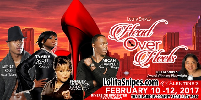 Don't miss Lolita Snipes' 'Head Over Heels' at the Riverside Epicenter