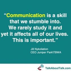 Jil Nykoliation communication quote