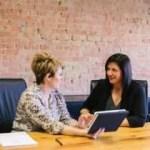 2 women strategic networking - image: unsplash @ amyhirschi