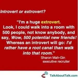 extrovert quote Sharon Mah-Gin