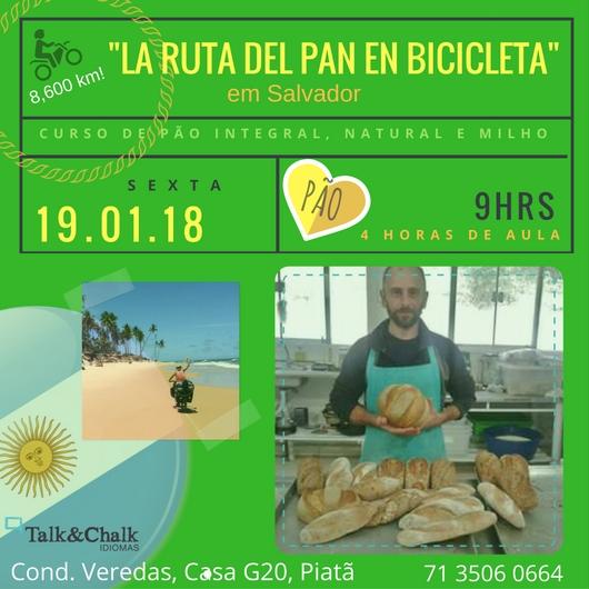 Curso prático de Pães com Javier Soldavila – evento