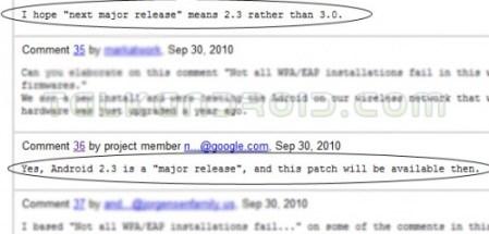 google code forum 499x239 - Gingerbread será 2.3 e já chegou ao Googleplex