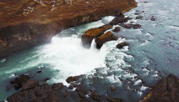 Godafoss Wasserfall im Diamond Circle 2