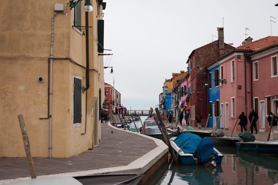 Burano - Lagune von Venedig