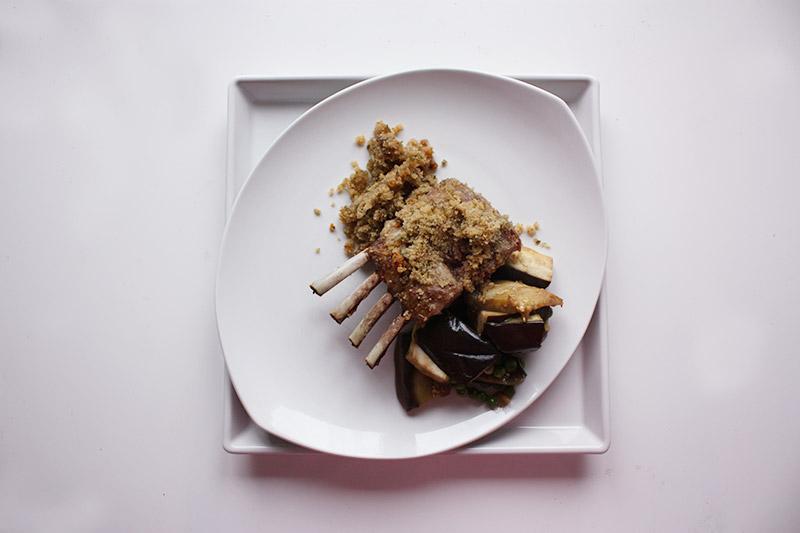 Lammkarree mit Knoblauchkräuterkruste 1