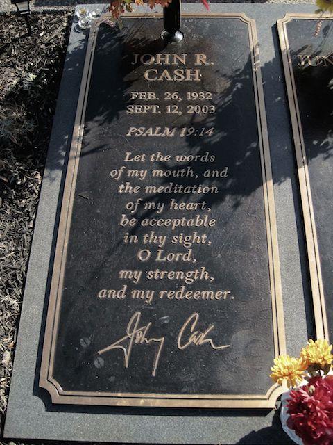 Celebrity Burial Sites