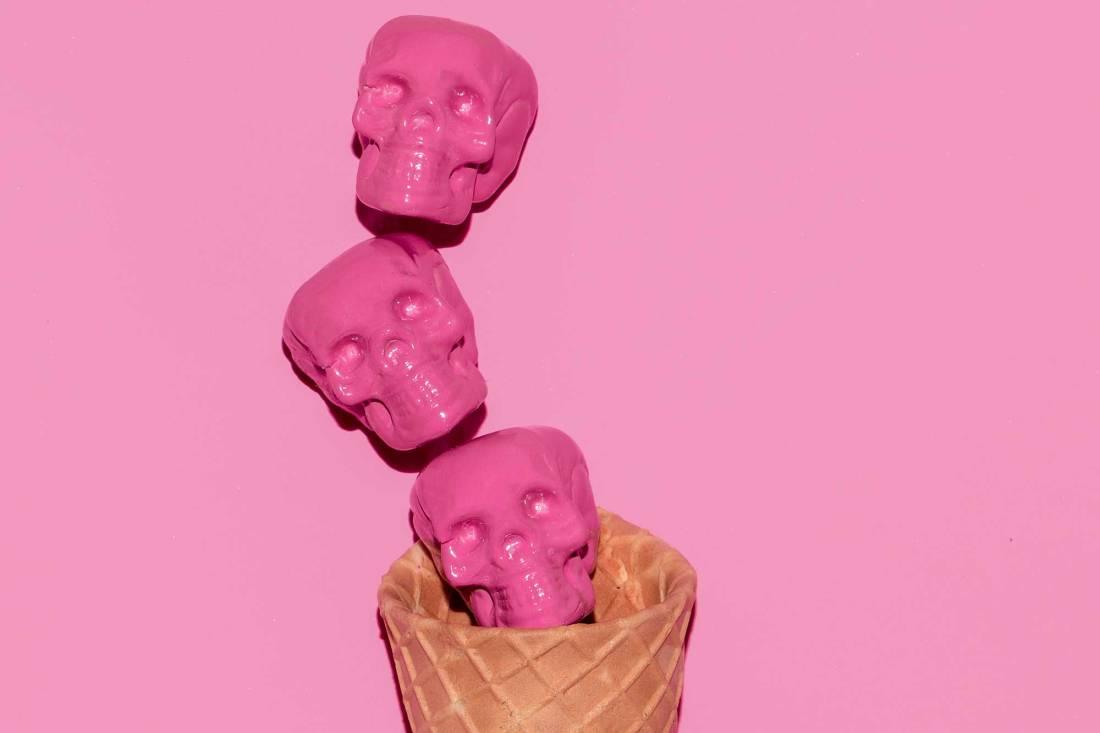 Skulls in Cone