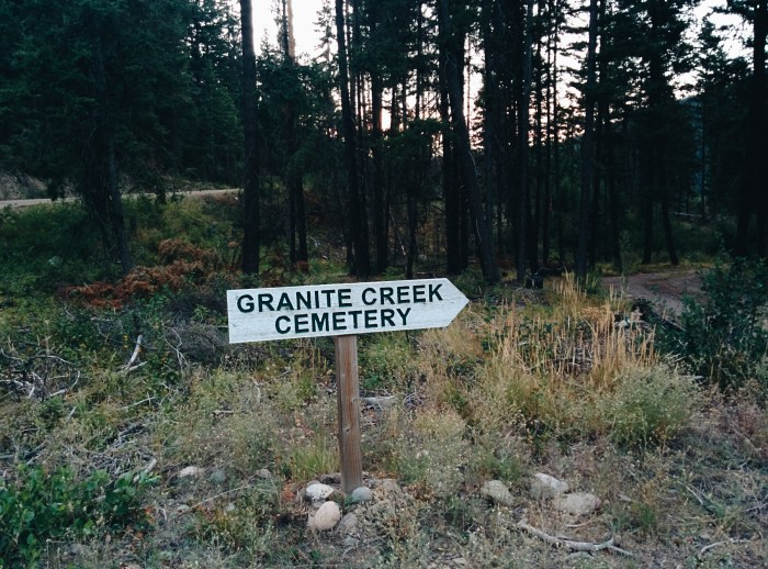 granite creek cemetery