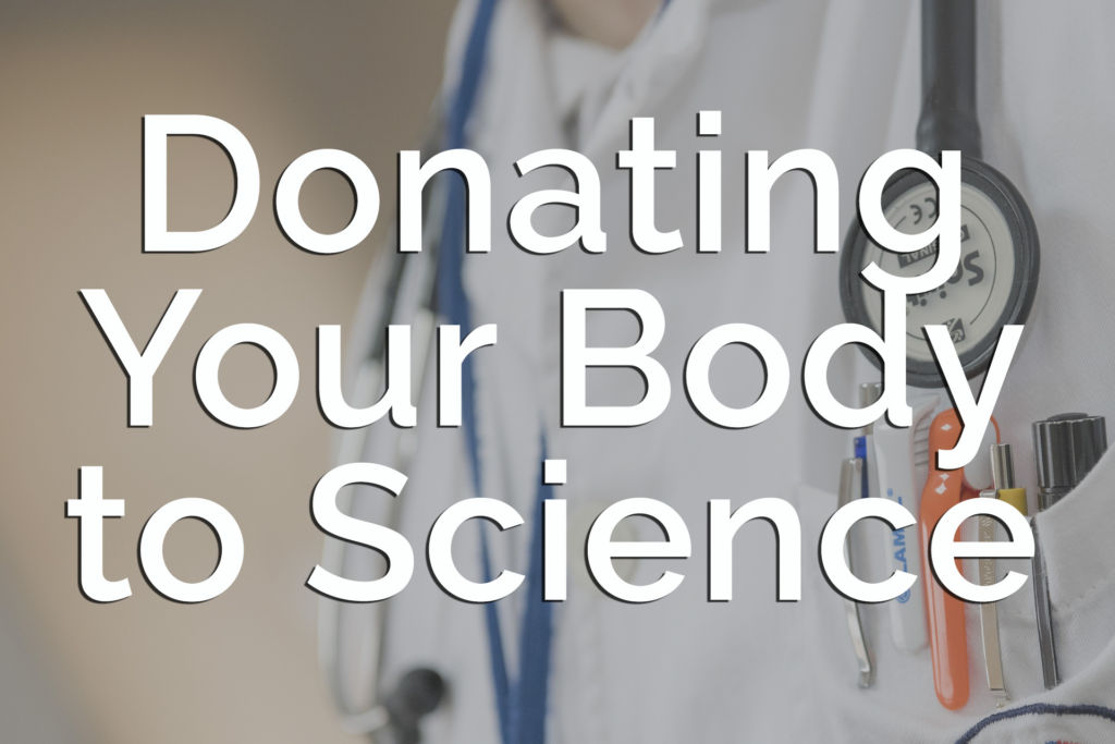 Donating My Body to Science in the United States