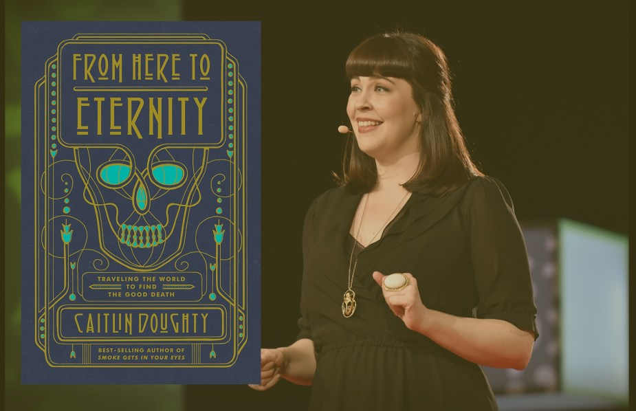 Books About Death and Dying caitlin doughty