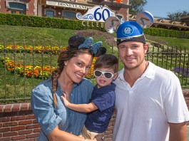 Nick and Vanessa Lachey Disneyland