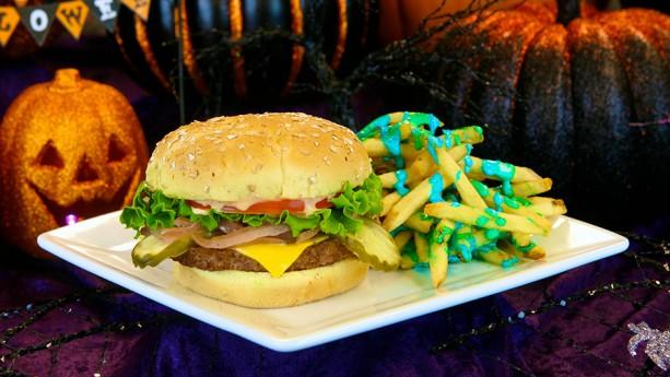 Tomorrowland Terrace Burger