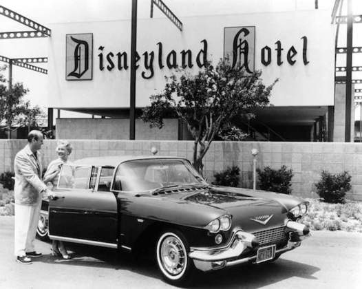 Disneyland Hotel Opens, 1955