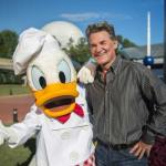 Kurt Russell epcot disne ydonald duck food wine