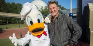 Kurt Russell epcot disne ydonald duck food wine
