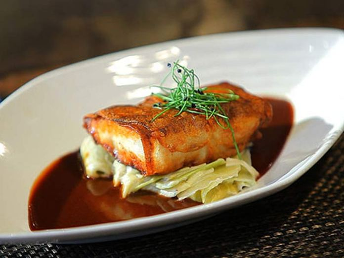 Potato-Wrapped-Snapper-flying-fish