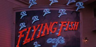 flying fish cafe disney construction closed
