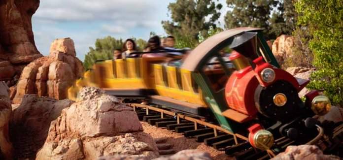 Disneyland Big Thumber Mountain Railroad