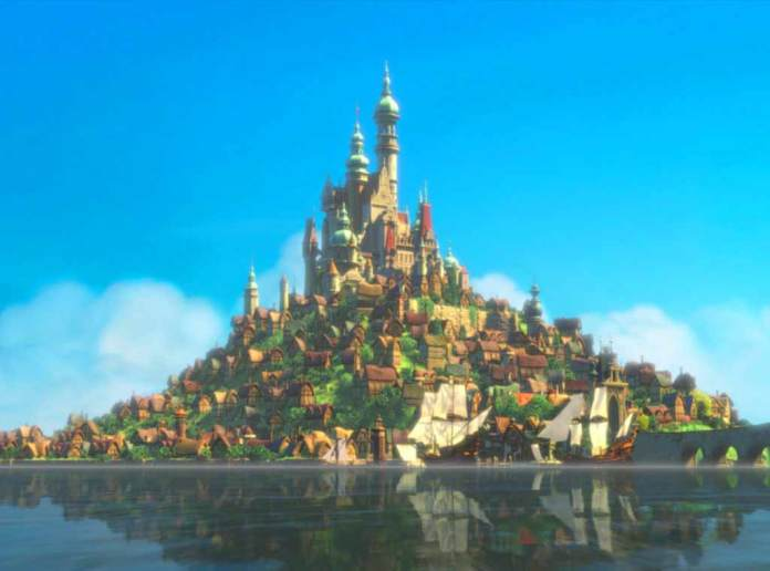 Rapunzel's-castle-from-Tangled