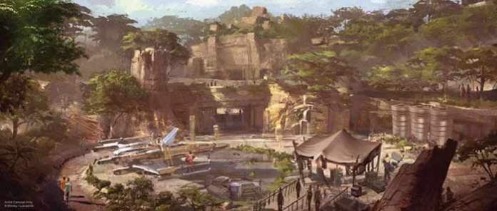 new star wars land concept artwork
