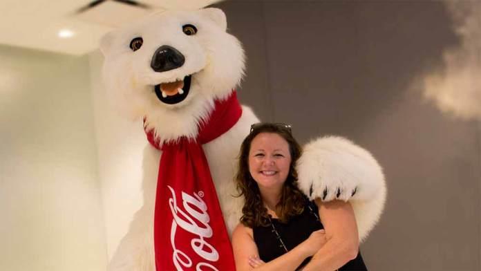 Coca-Cola Polar Bear at Disney Springs