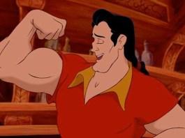 Gaston flexing workout
