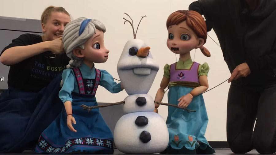 Disney Wonder Cruise Ship Frozen Musical