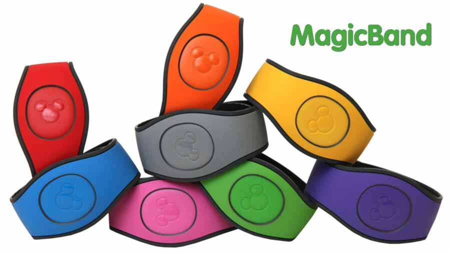 Disney Magic Bands 2.0