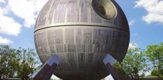 Deathstar Spaceship Earch Epcot