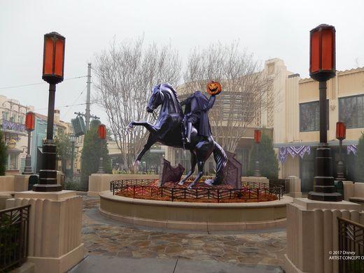 Buena Vista Street halloween