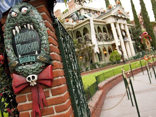 halloween haunted mansion disney