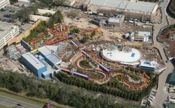 Toy Story Land Construction Update