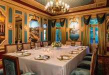 Disneyland's 21 Royal restaurant