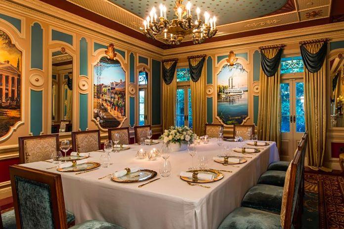 Disneyland's 21 Royal restaurant