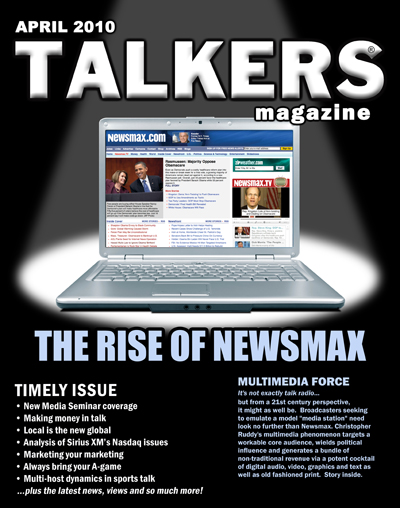 Talkers Magazine   April Cover