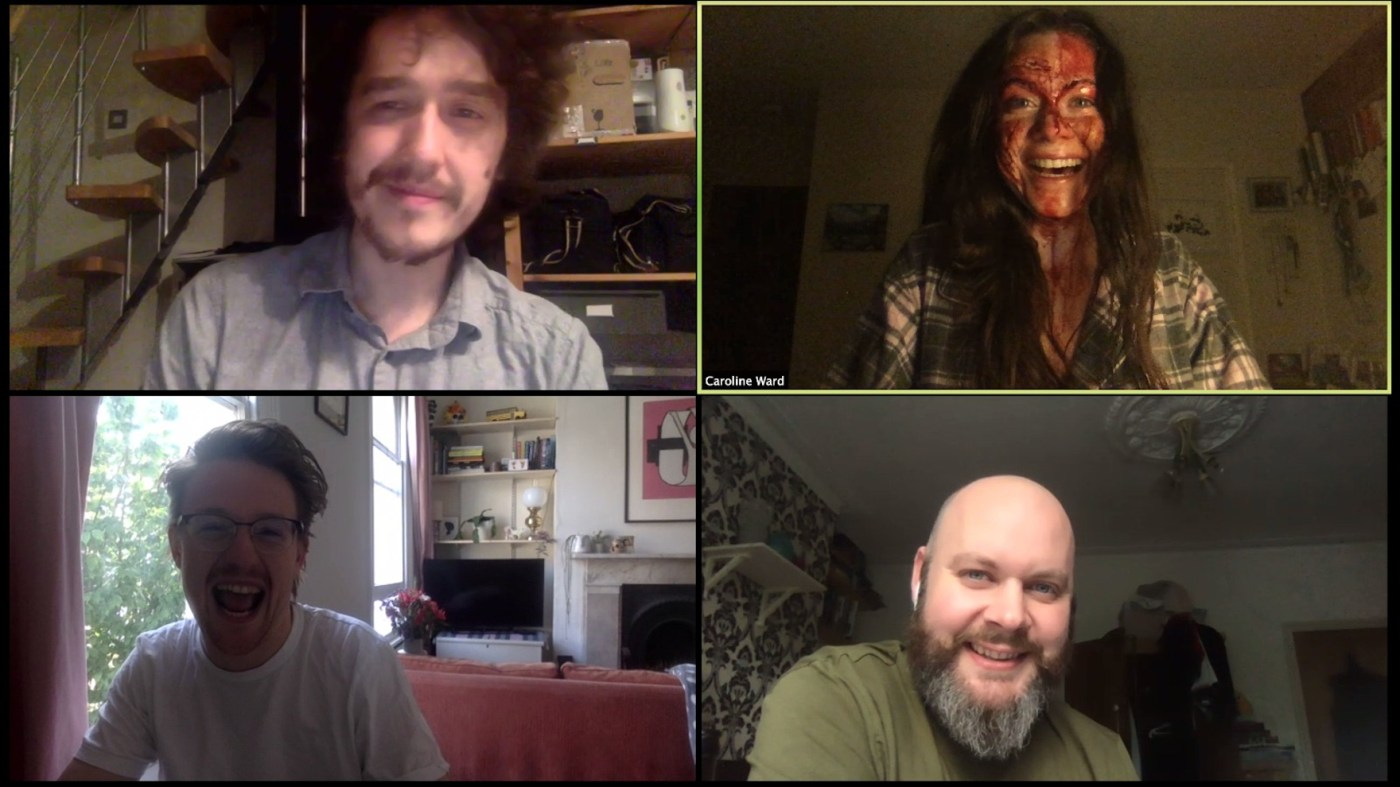 How I Rediscovered Spontaneous Creativity Making My Quarantine Zoom Horror Movie