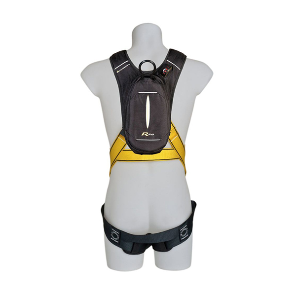 Personal Rescue Device with Workman Premier harness, Qwik-fit leg straps