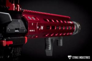 strike handguard red