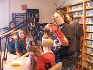 Children's Radio Hour with TUPAC Presenters 2009