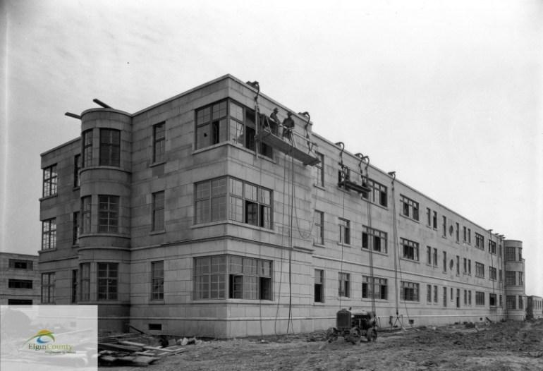 St. Thomas Psych construction 1938, abandoned, Ontario, psych, hospital, exploring