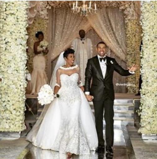 First Look Steve Harveys Daughter Karli Gets Married