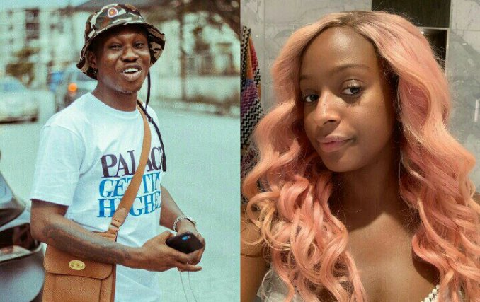 Zlatan Ibile Teaches DJ Cuppy How To Say His Slangs 'Watch Video'