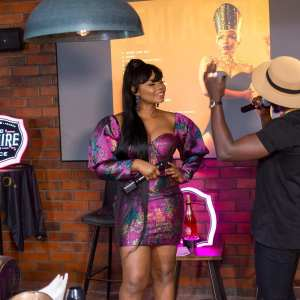 You can't miss these gorgeous photos of Yemi Alade as shes bares it